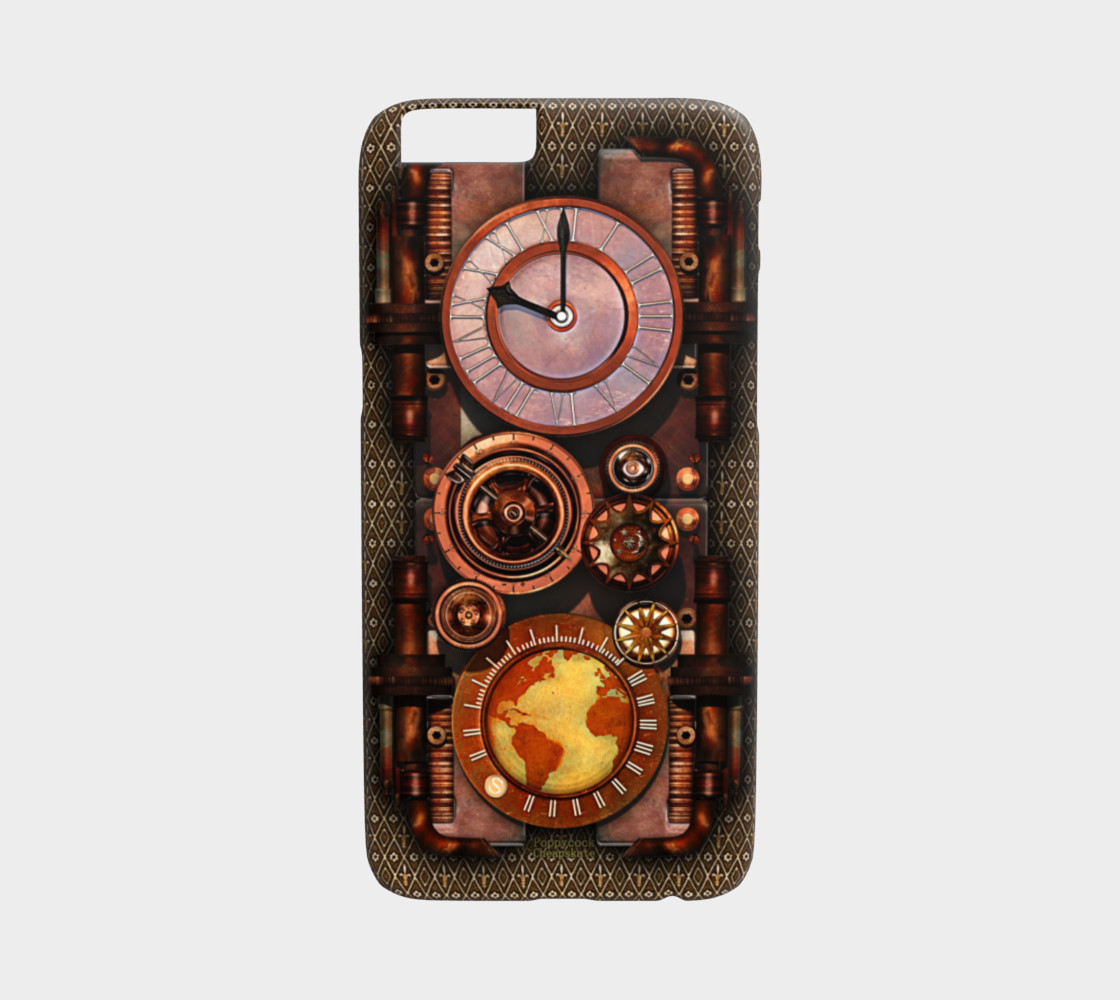 Infernal Steampunk Timepiece iPhone 6/6S Cases preview #1