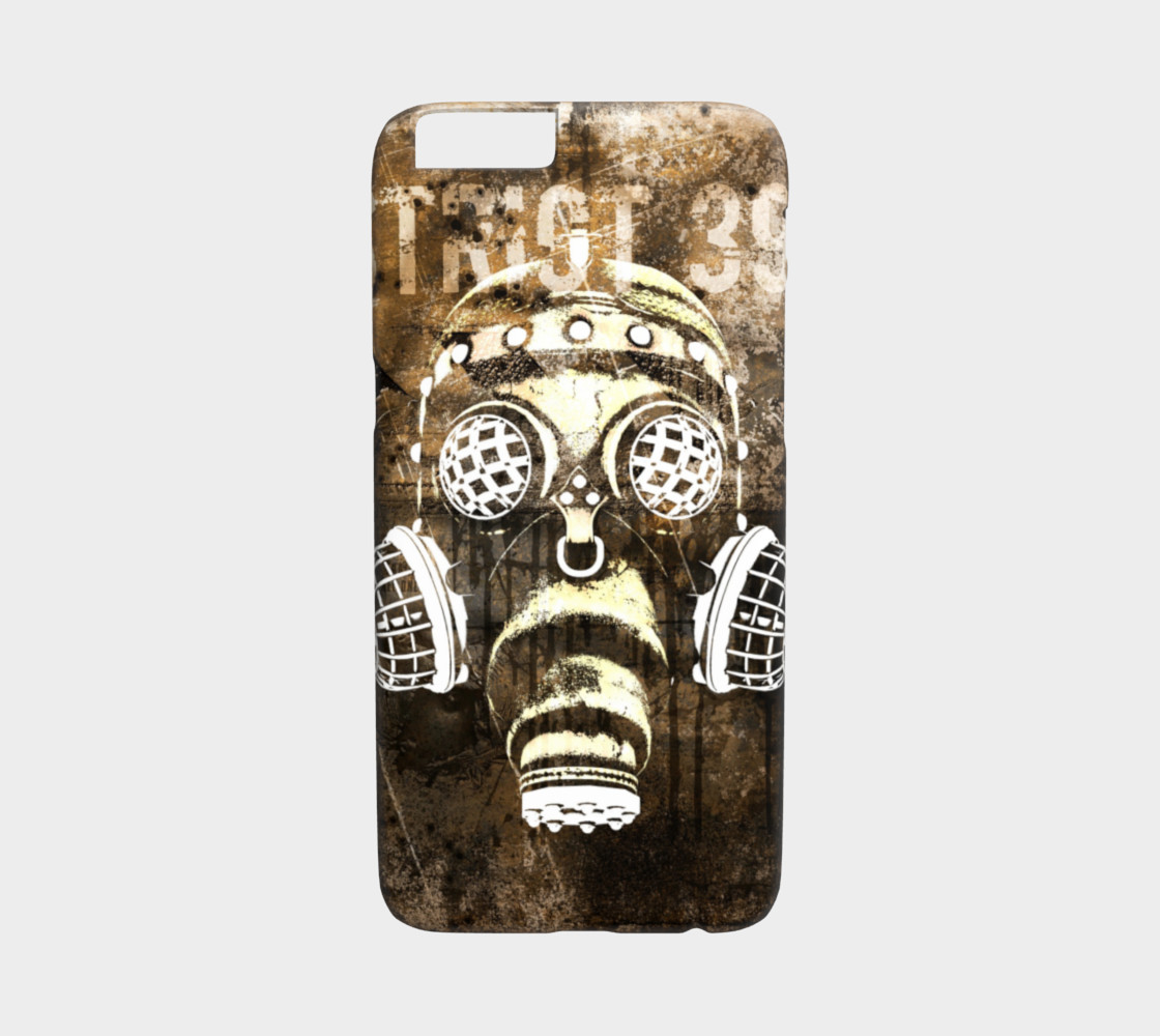 Cyberpunk Gas Mask Poster Art iPhone 6/6S Cases preview #1