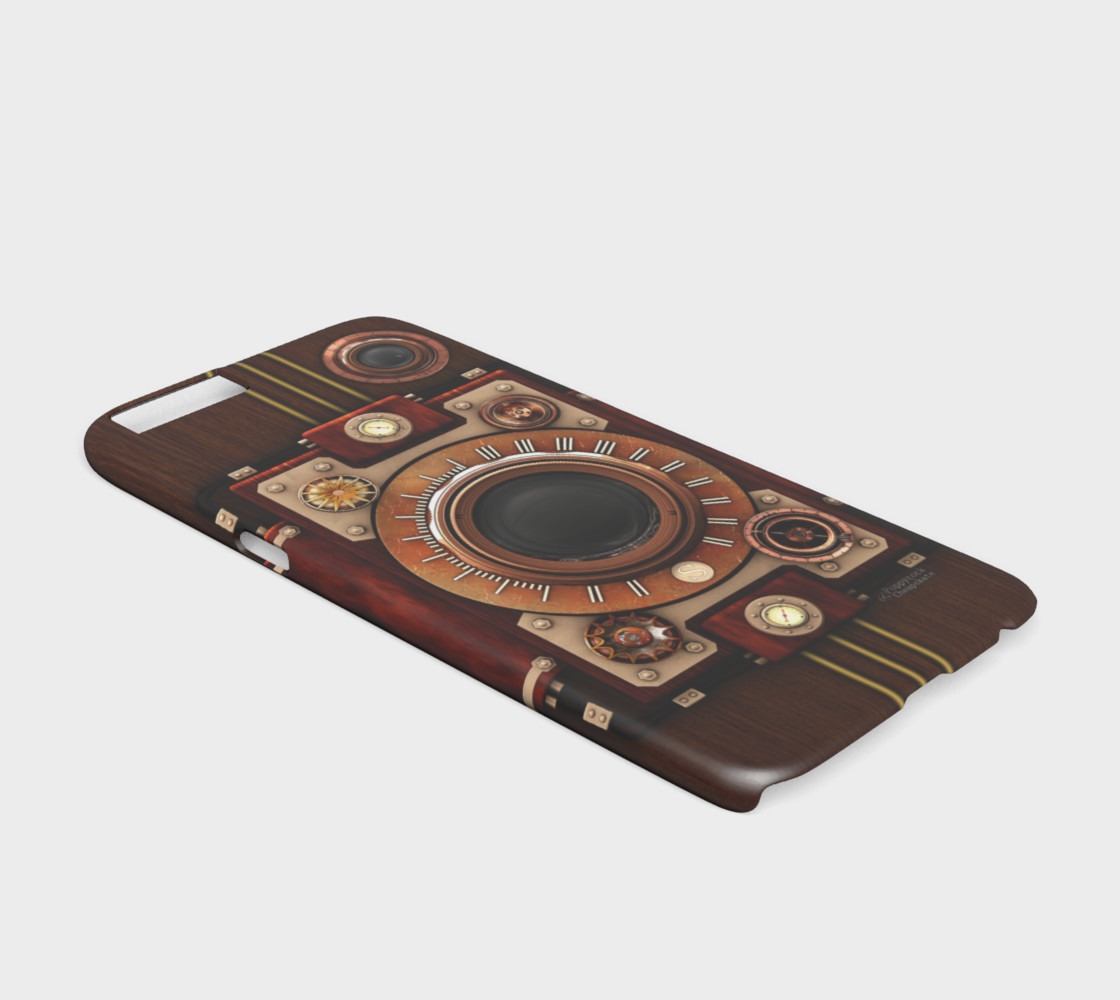 Vintage Steampunk Camera #1 iPhone 6/6S Cases preview #2