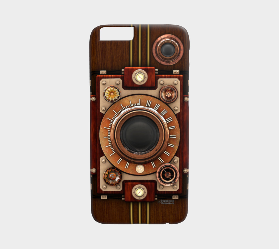 Vintage Steampunk Camera #1 iPhone 6/6S Cases preview #1