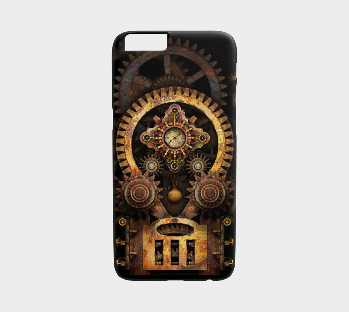 Infernal Steampunk Machine #2 iPhone 6/6S Cases preview #1