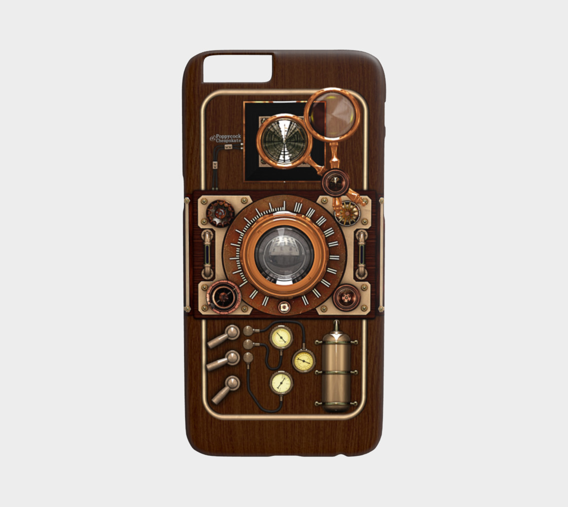 Vintage Steampunk TLR Camera iPhone 6/6S Cases preview #1