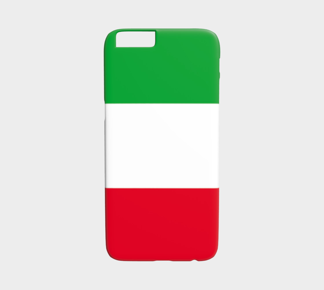 Italian Flag iPhone 6 case preview #1