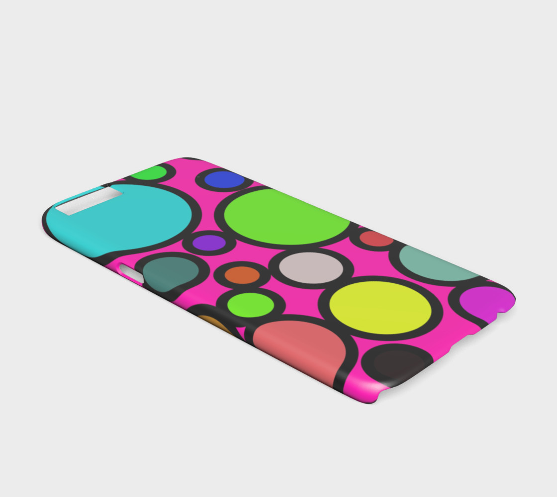 Circles Galore iPhone 6 Case preview #2