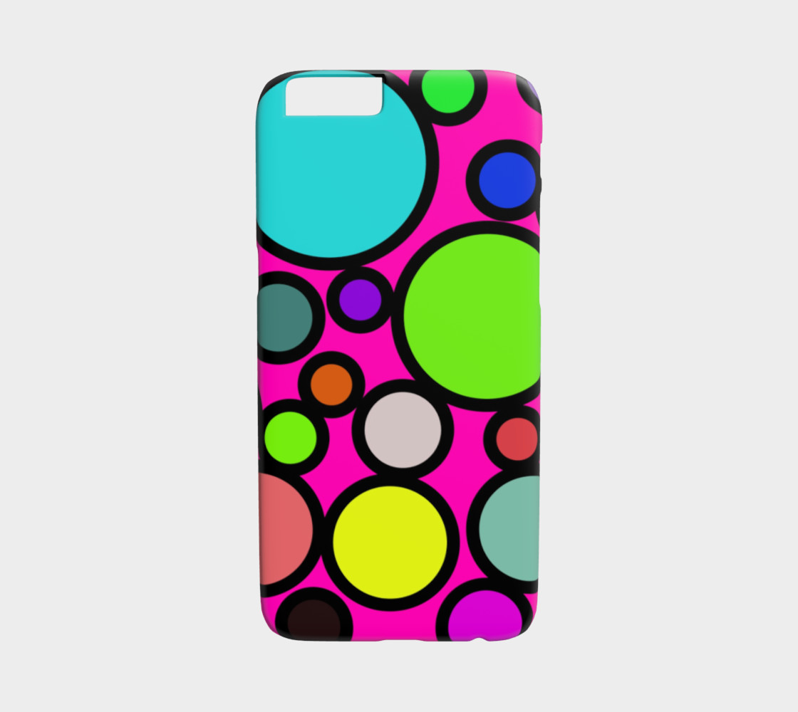 Circles Galore iPhone 6 Case preview #1