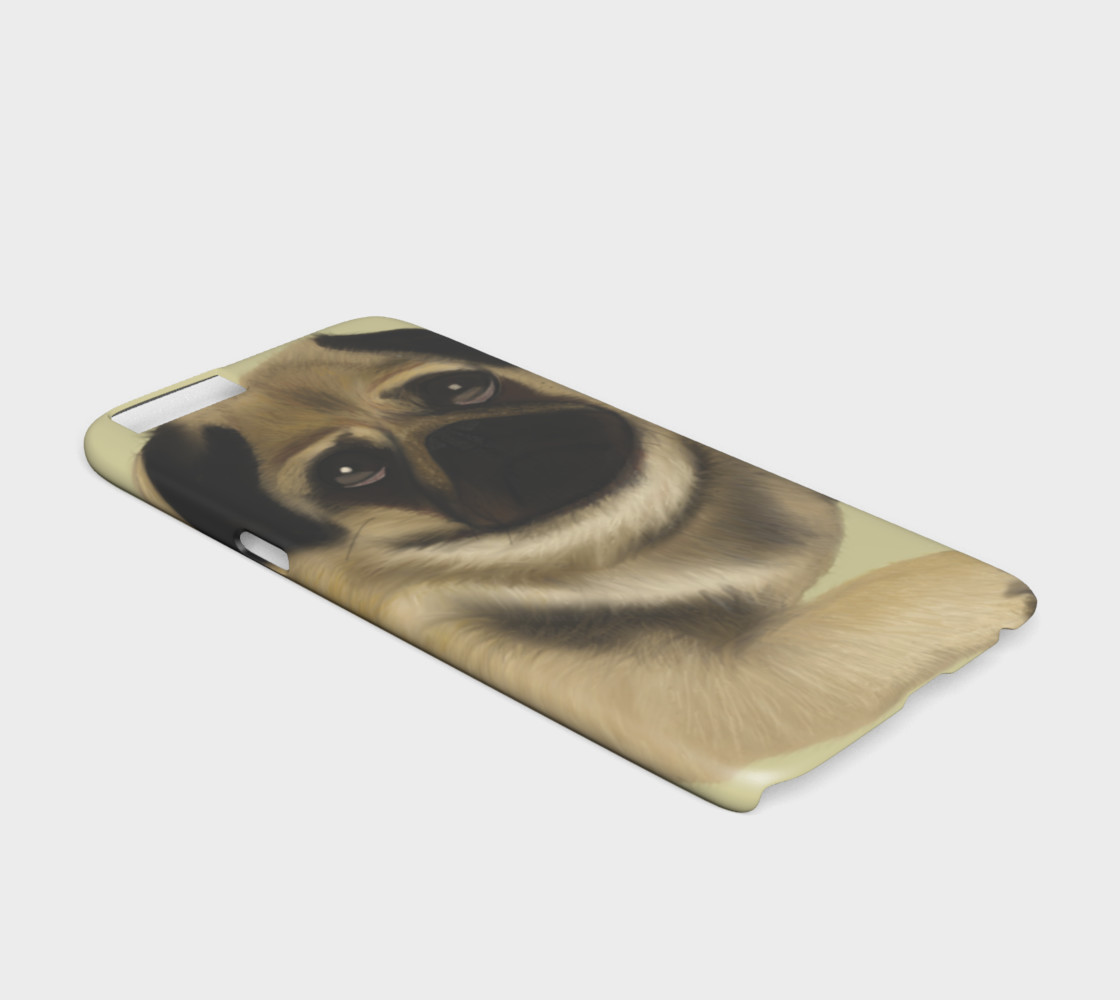 Pug Love iPhone 6 / 6S Case Miniature #3