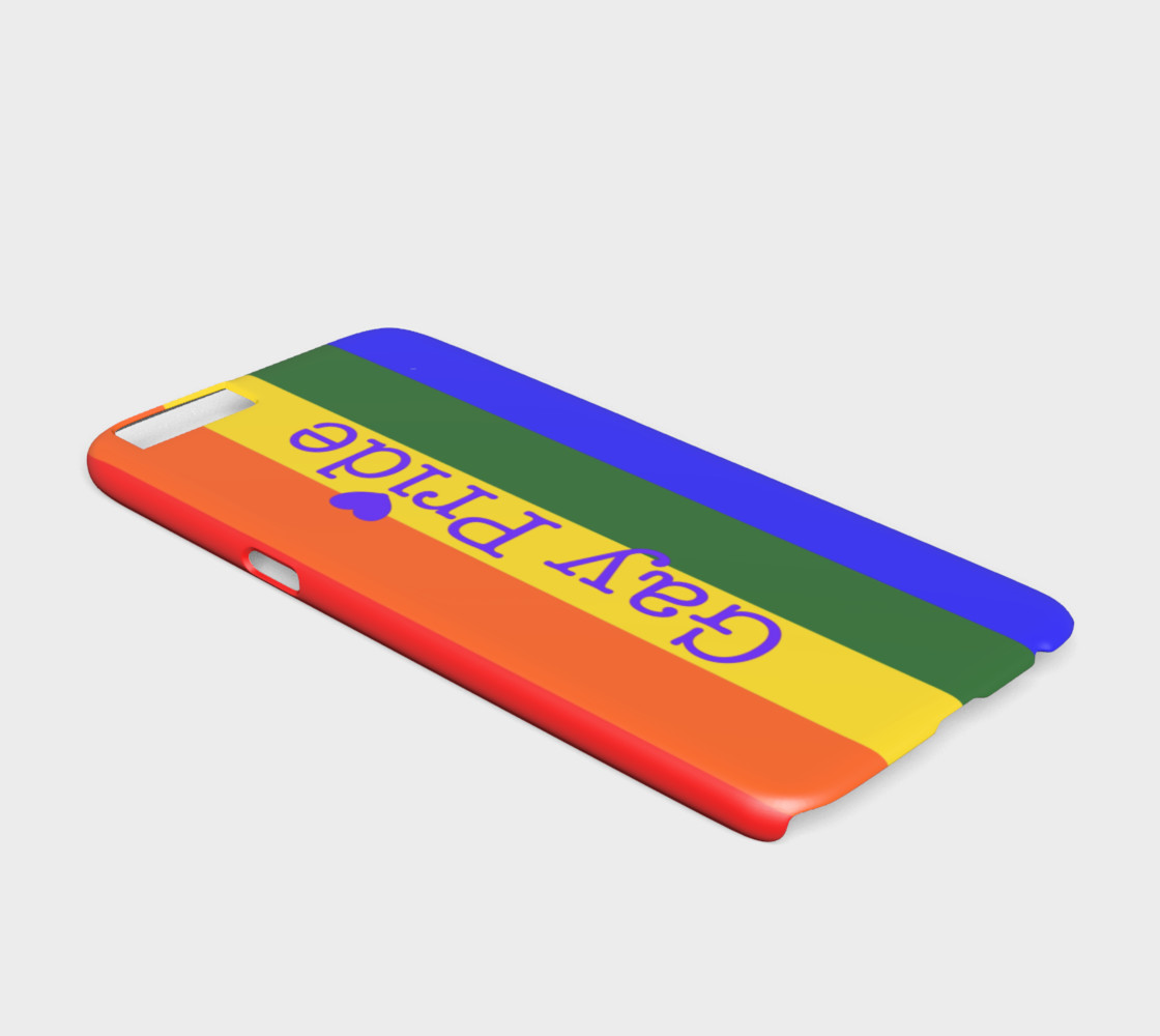 Gay Pride Love iPhone 6 / 6S Case preview #2