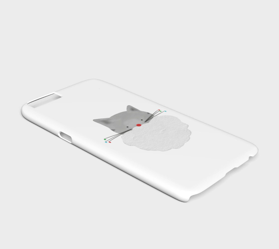 Christmas Cat Phone Case - Iphone 6/6s preview #2