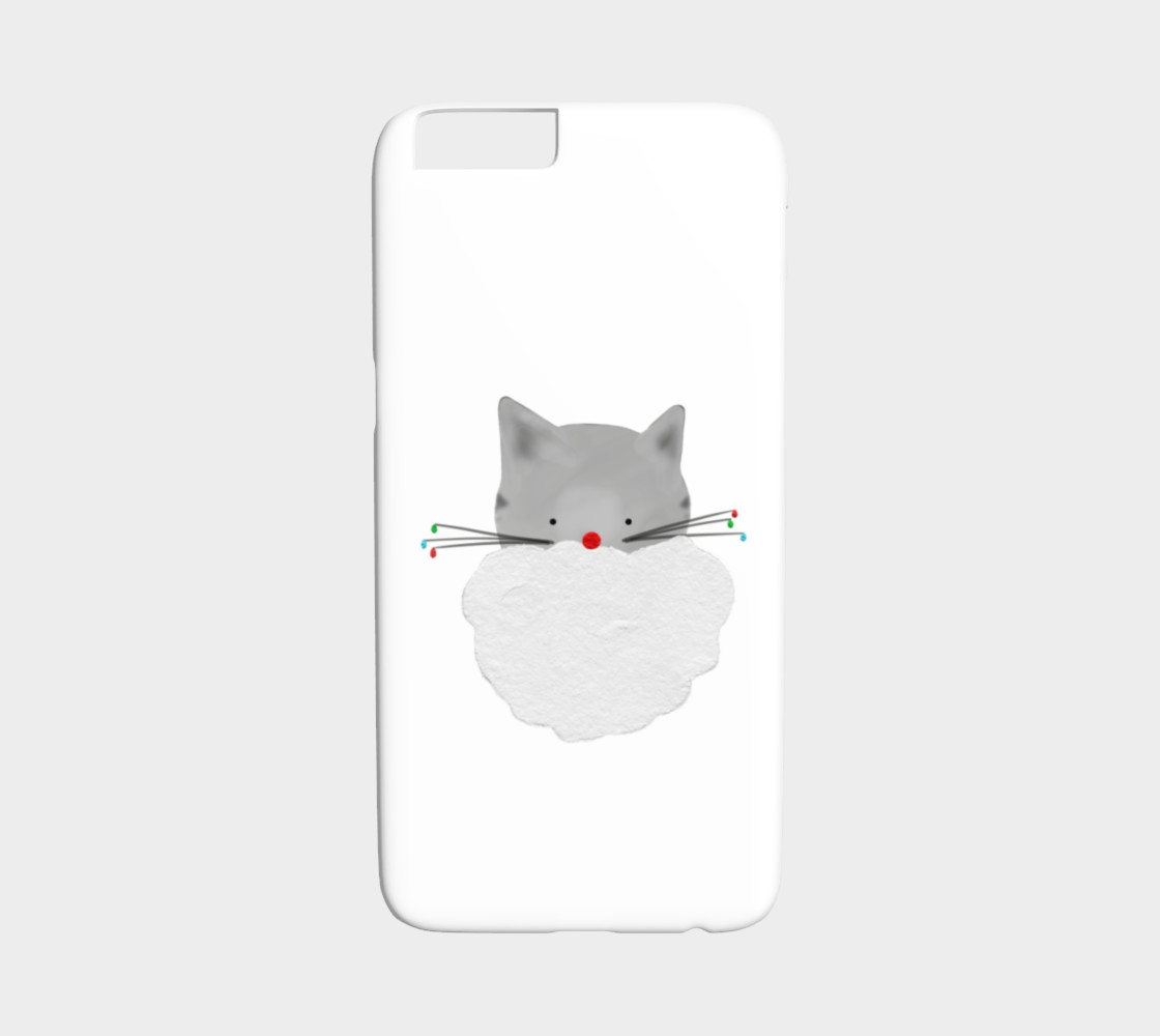 Christmas Cat Phone Case - Iphone 6/6s preview #1