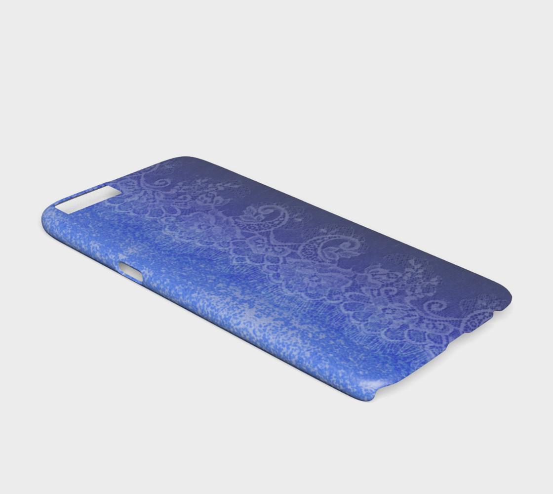 Aperçu de Blue Lace Ombre Watercolor #2