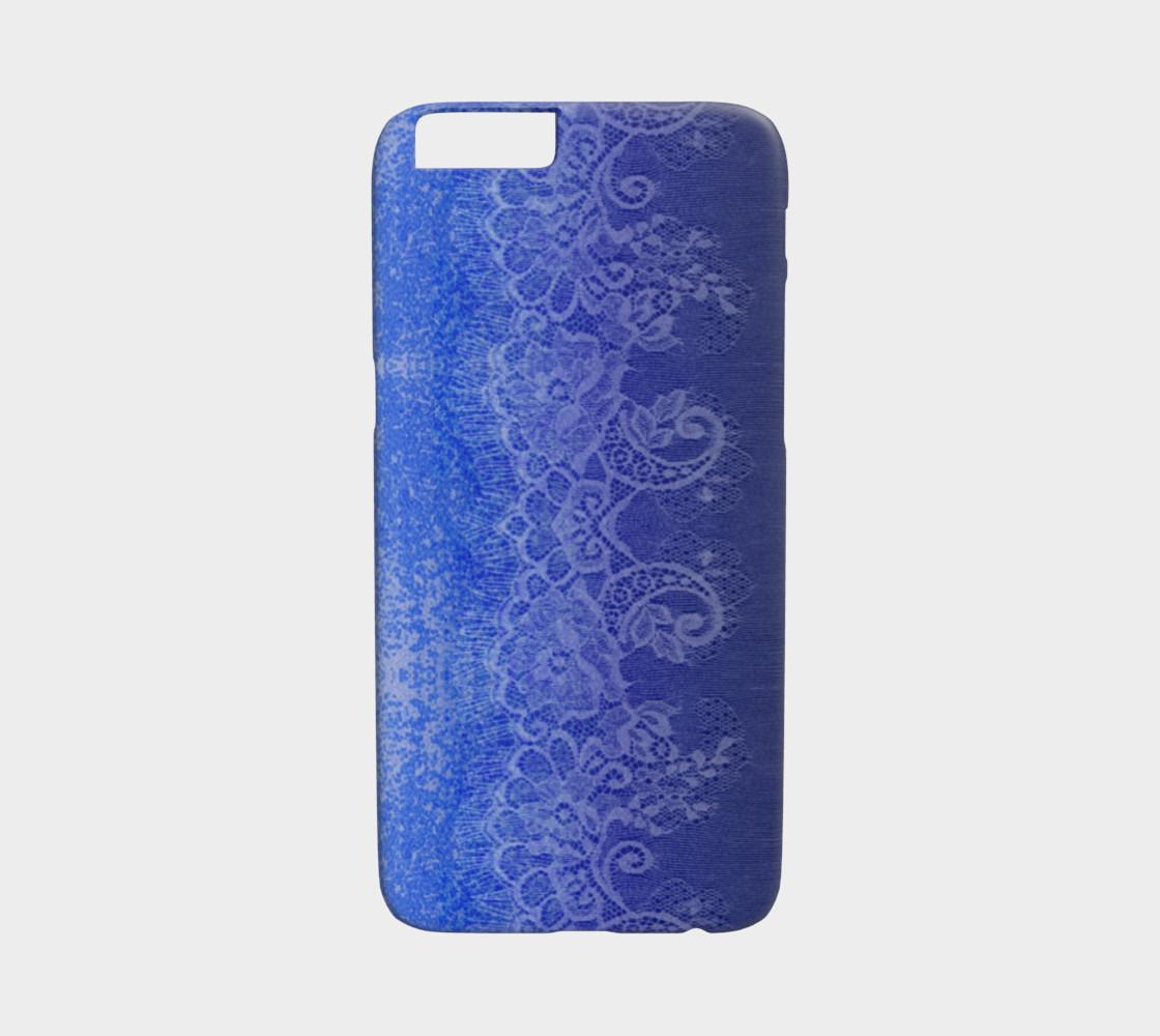 Aperçu de Blue Lace Ombre Watercolor #1