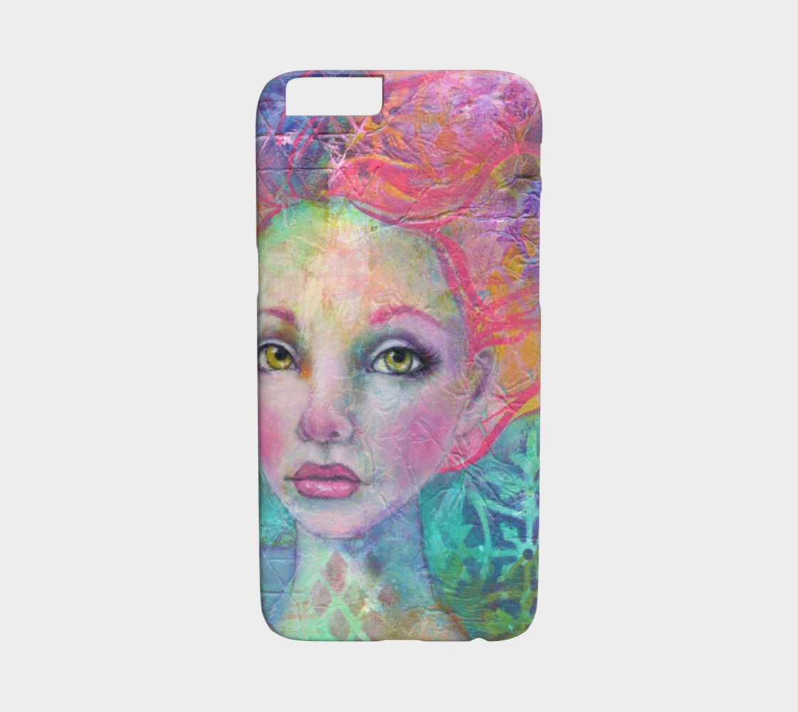 Anahalia the Mermaid iPhone 6 / 6S Phone Case thumbnail #2