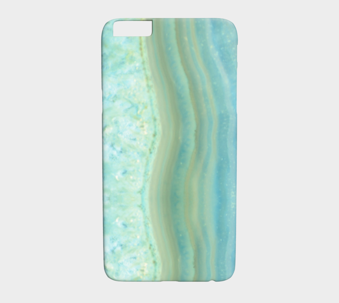 Turquoise Blue Marble Pattern preview #1