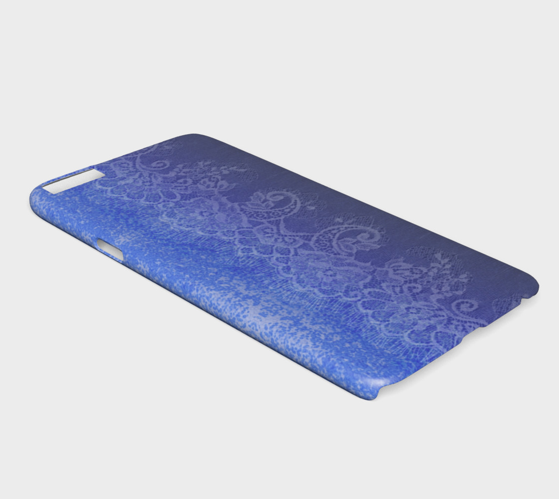 Aperçu de Blue Lace and Watercolor #2