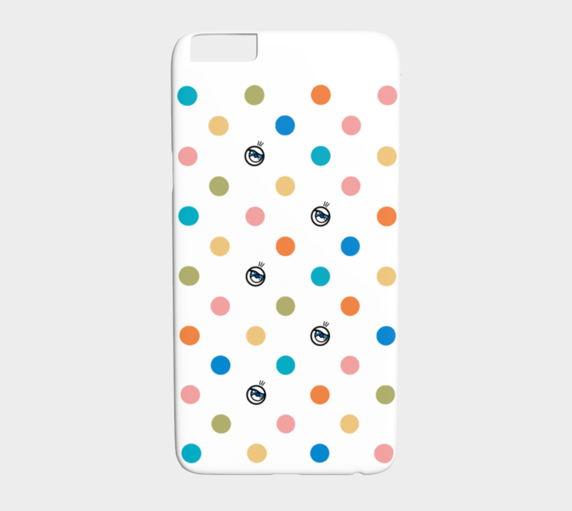 Eyes with polka dots preview #1