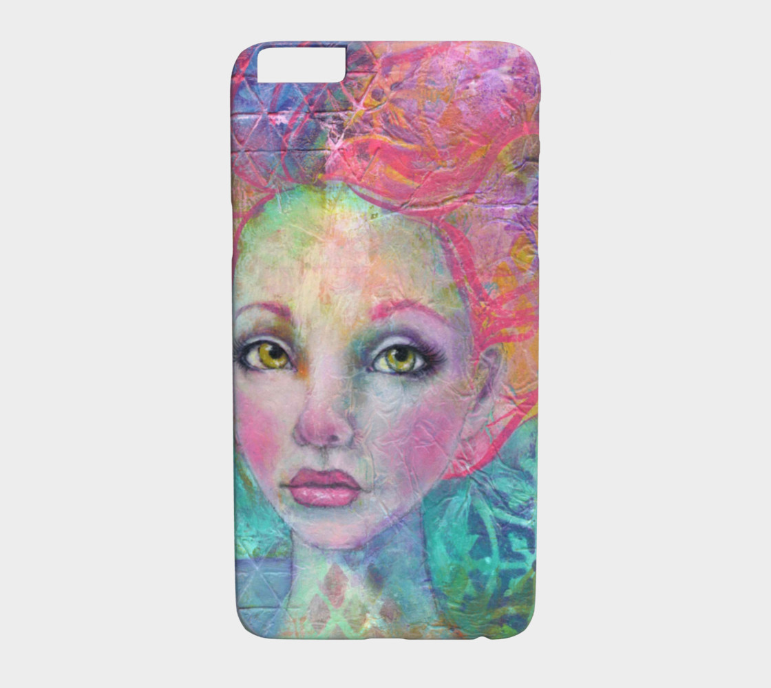 Anahalia the Mermaid  iPhone 6 / 6S Plus Phone Case 3D preview