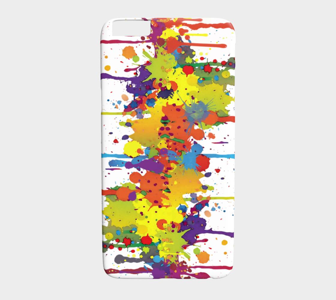 Aperçu de CRAZY multicolored double RUNNING SPLASHES #1