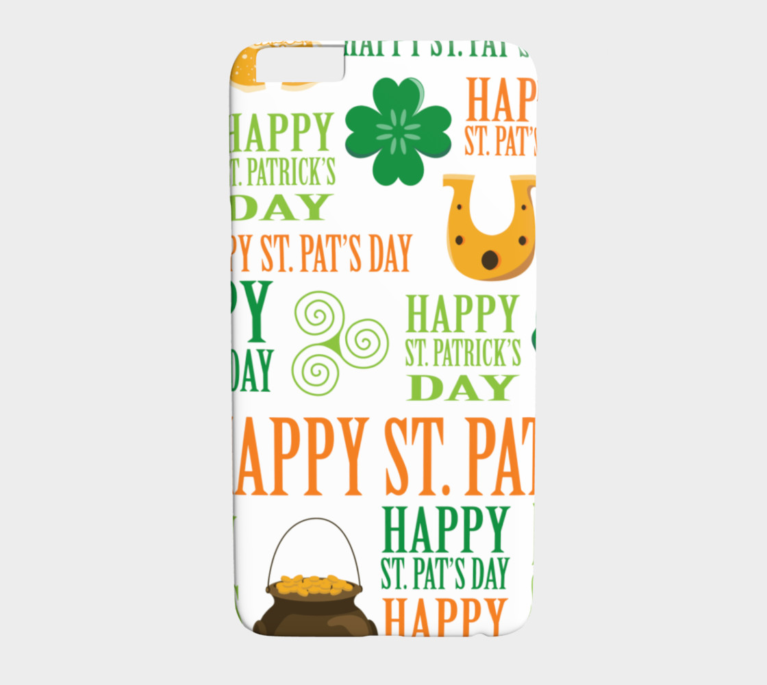 Happy St. Patrick's Day - Light Background preview #1