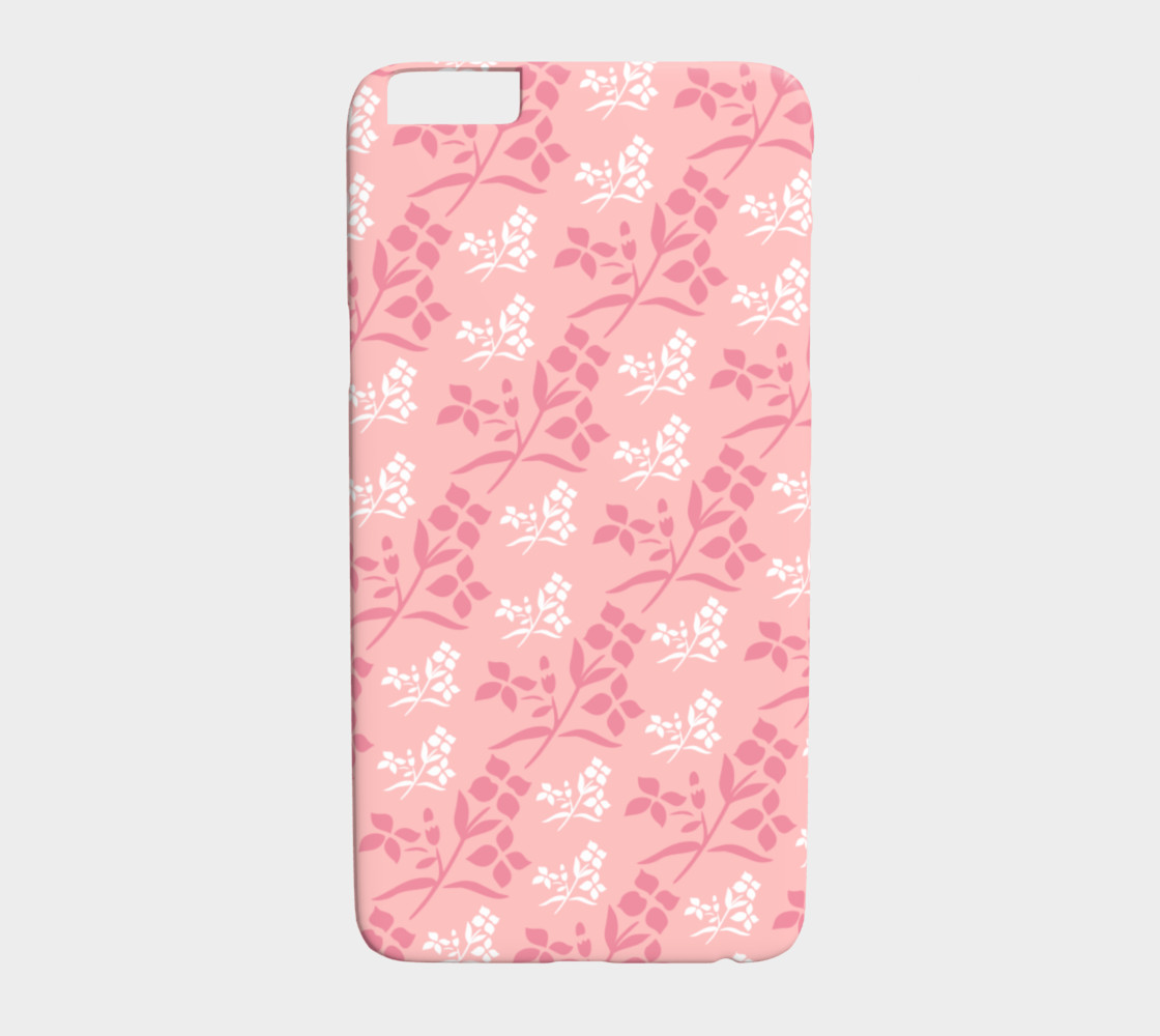Girly Pink Floral preview #1