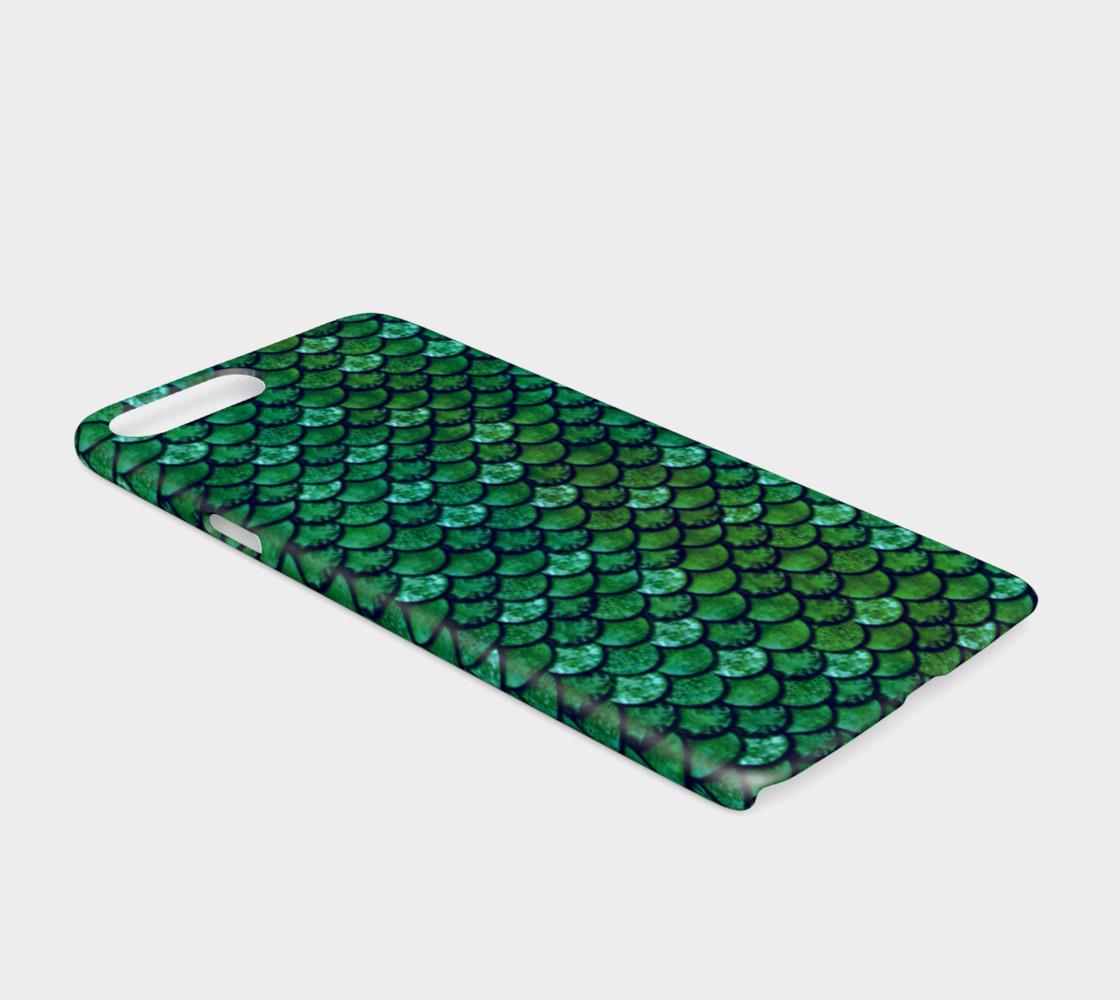 Aperçu de Glitterfish Green Phone Case #2