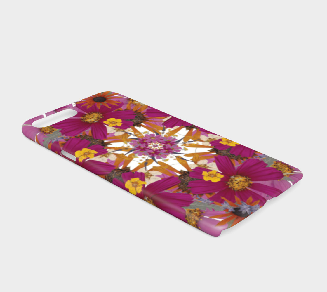 Aperçu de Pressed Flower Mandala iphone case #2