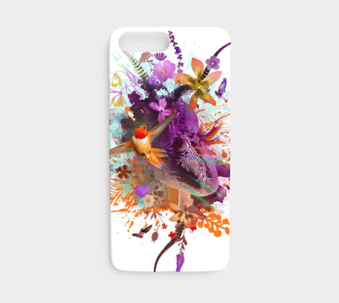 Aperçu de Hummingbird Medicine iphone case #1