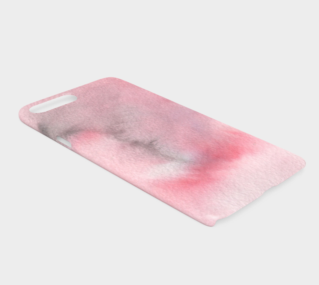 Watercolors Pink/Black iPhone 7+/8+ preview #2