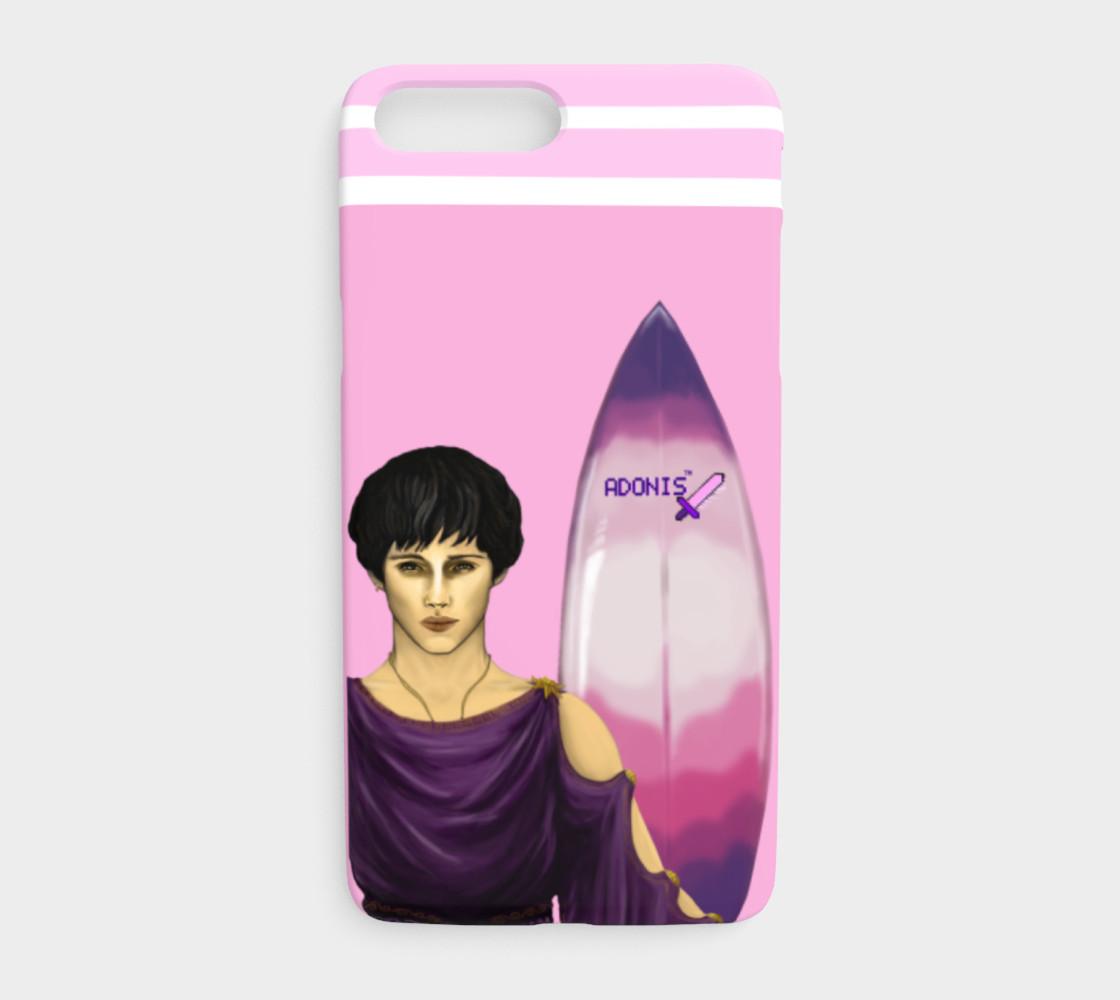 Aperçu de Adonis . Surfboard . iPhone 7 Plus / 8 Plus . Case #1