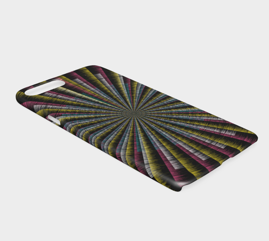 Trippy Tunnel iPhone 7 Plus / 8 Plus Case preview #2