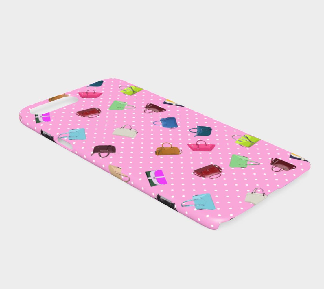 Aperçu de Purses, Polka Dots and Pink Background       #2
