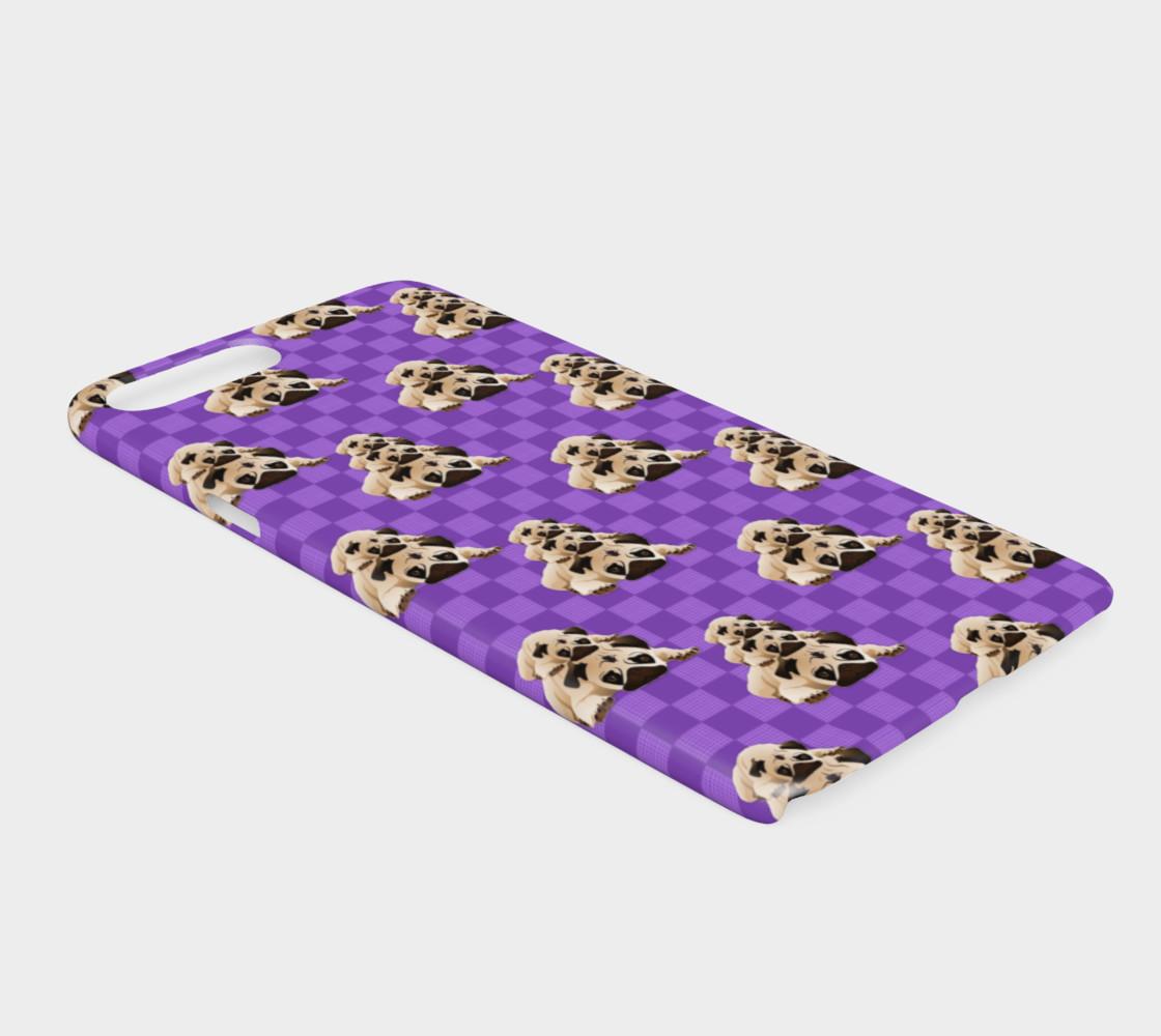 Pugs on Purple Checks preview #2