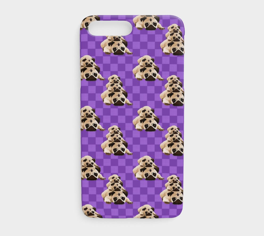 Pugs on Purple Checks preview #1