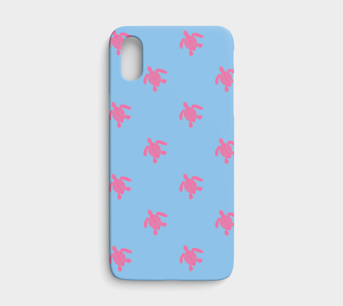 Turtle - Pink on Blue preview #1