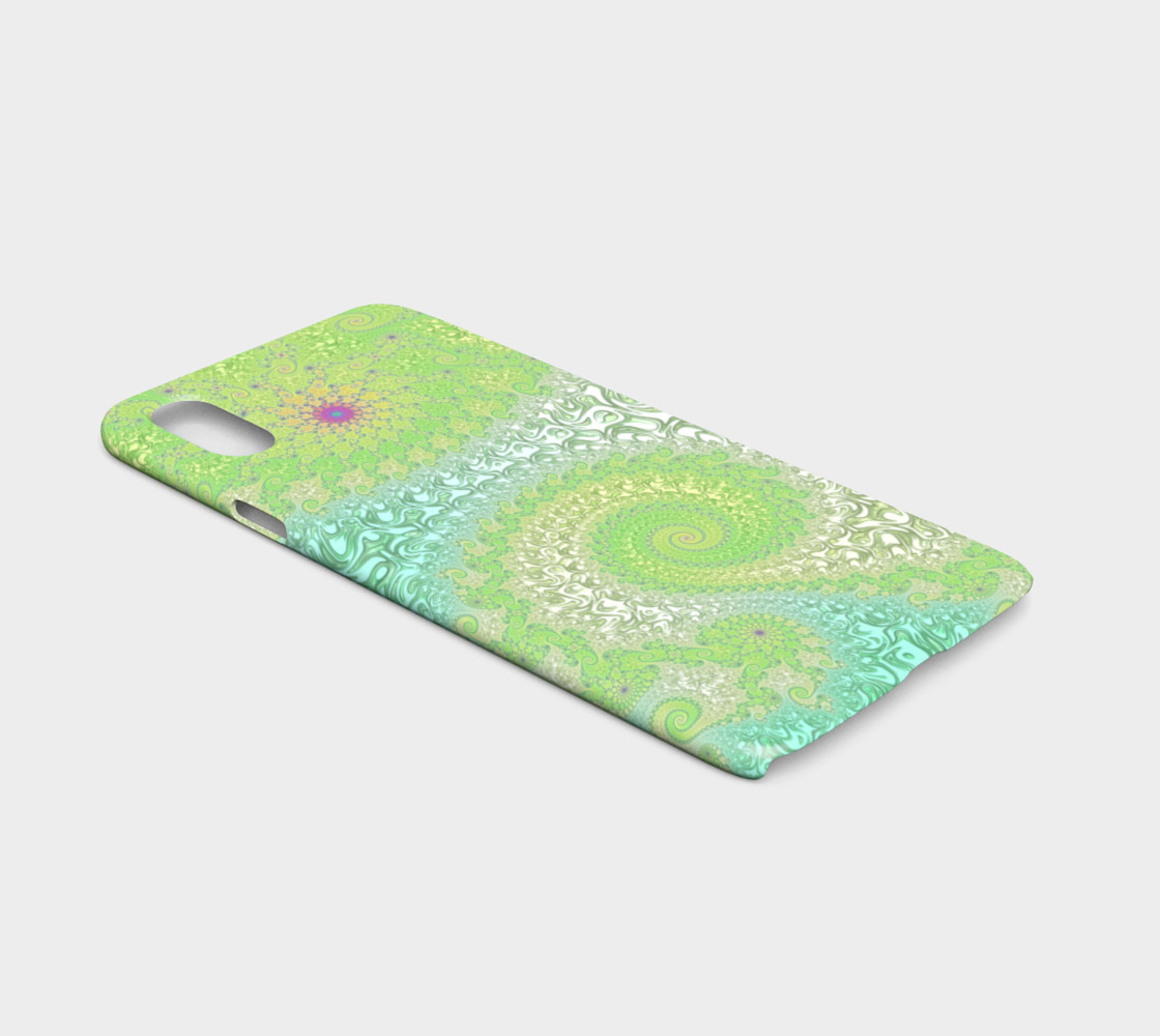 Springtime Garden iPhone X Case preview #2