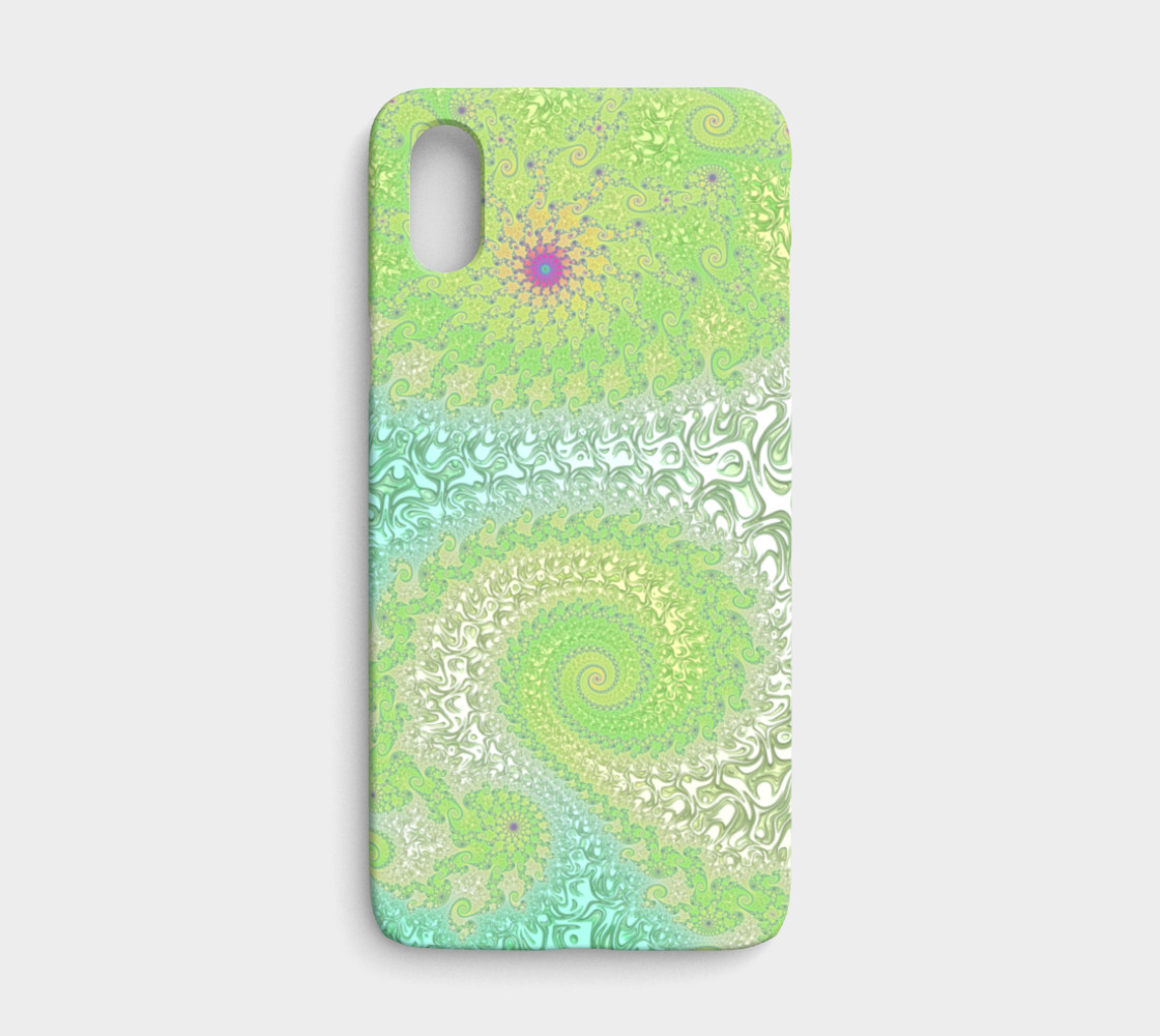Springtime Garden iPhone X Case preview #1