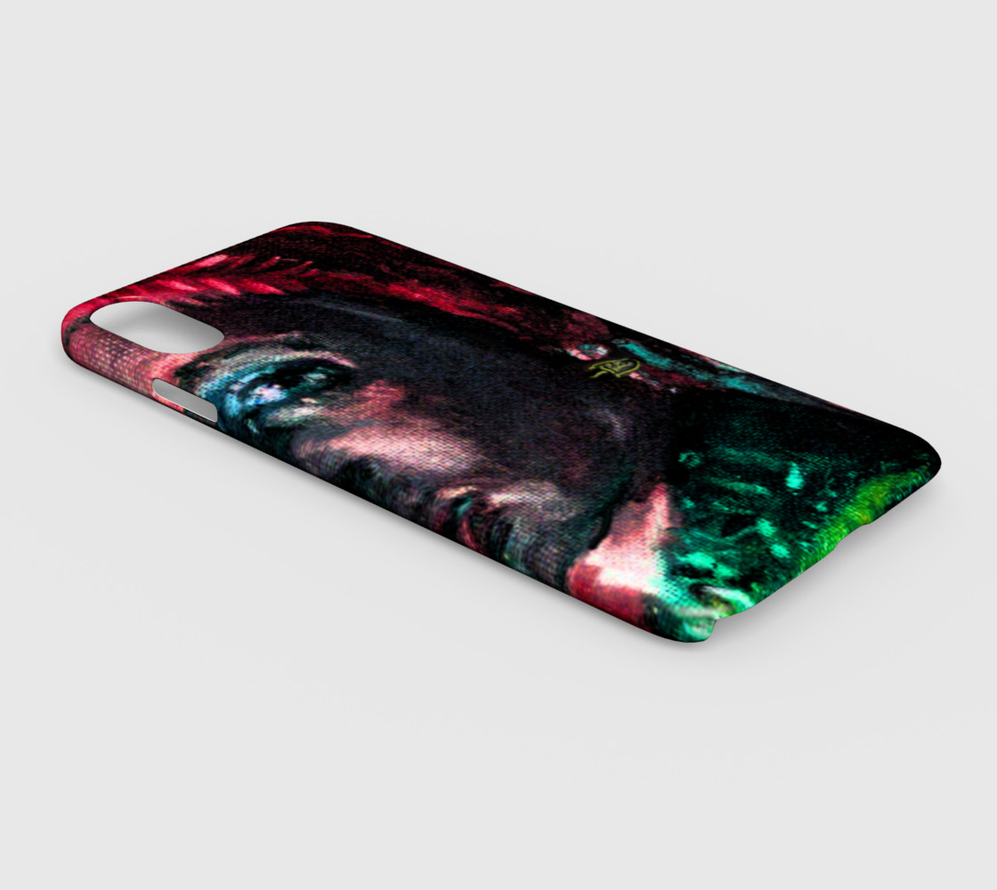 Aperçu de Girl with the Devin Earring  iPhone XS MAX cover #2