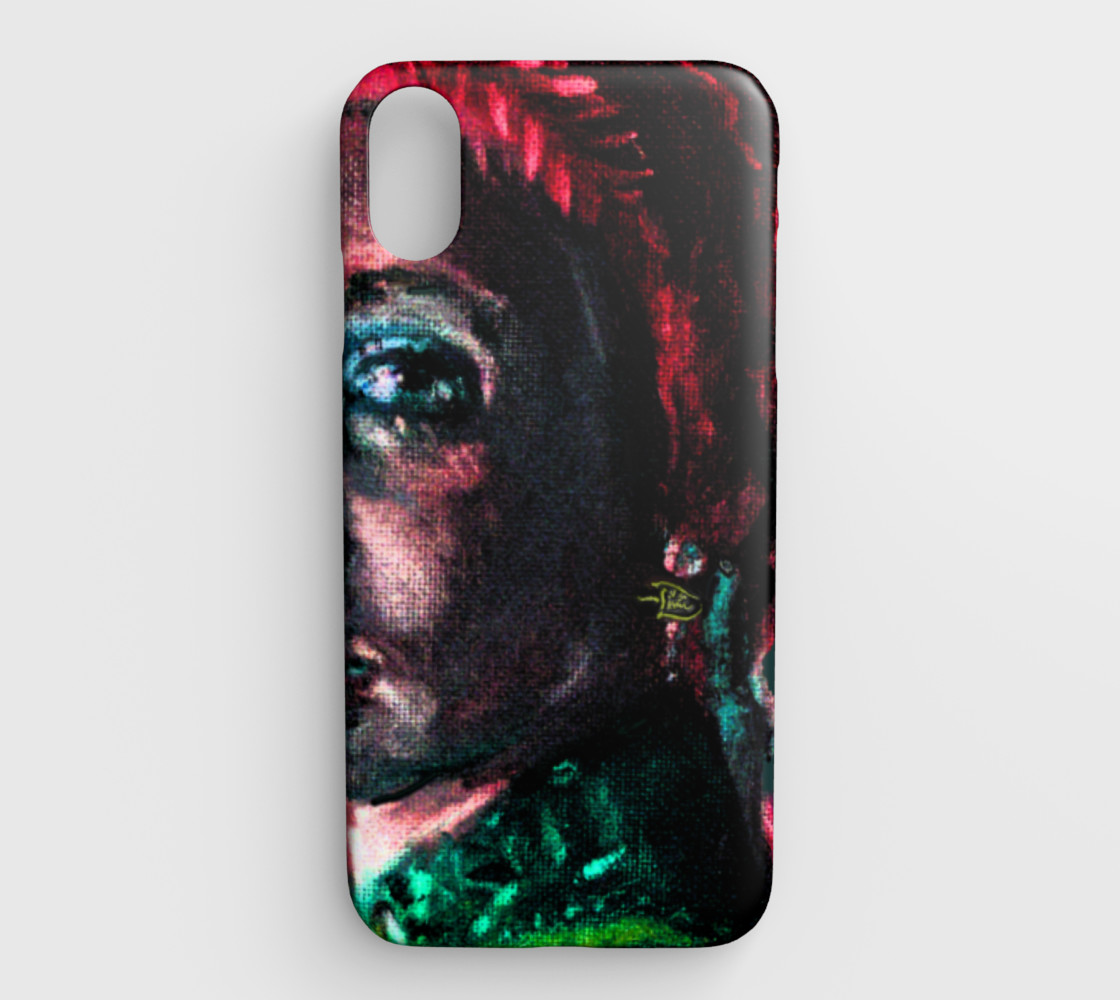 Aperçu de Girl with the Devin Earring  iPhone XS MAX cover #1