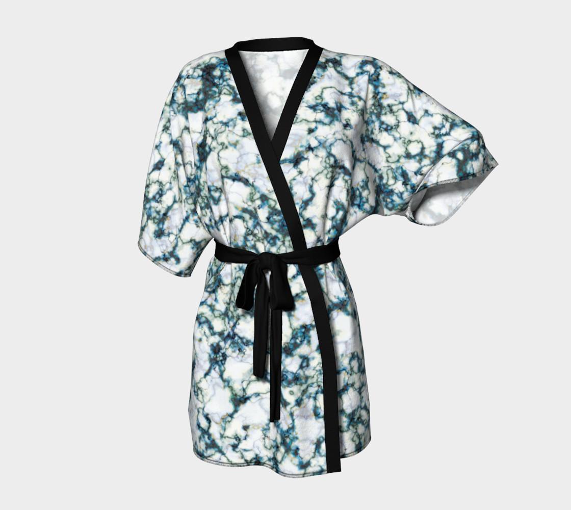 Blue Marble Kimono Robe preview #1