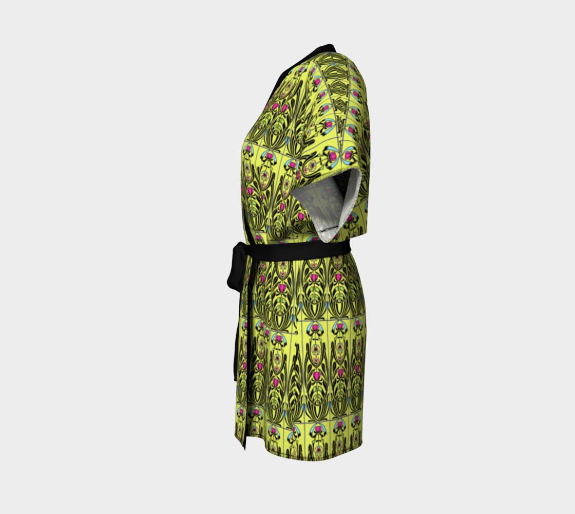 Aperçu de Yellow Nouveau Kimono #2