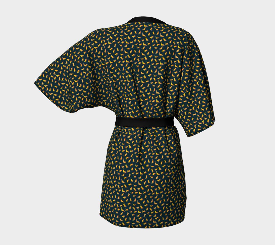Aperçu de Cat Meowmy Kimono #4