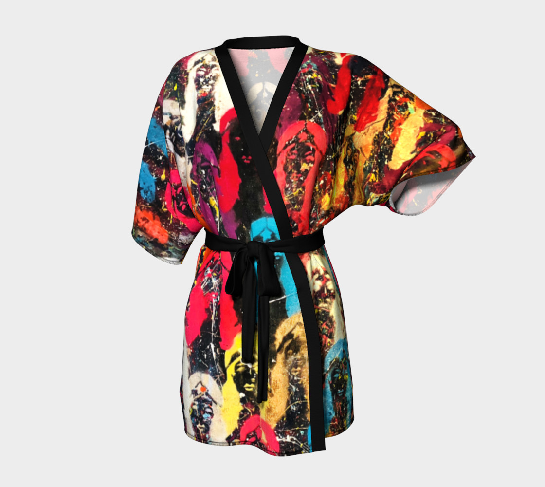 Links Without A Chain Kimono Robe 3D preview