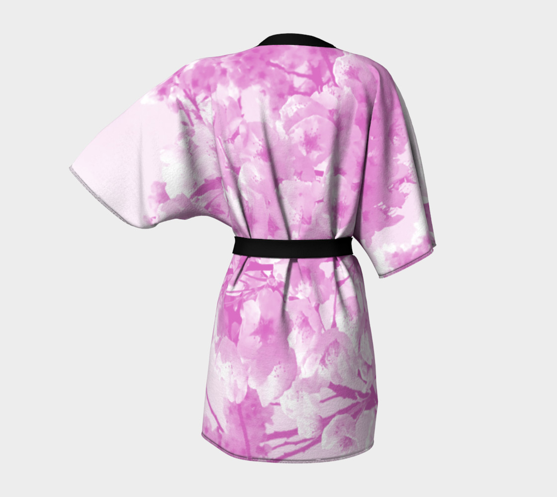 Aperçu de Cherry Blossom Kimono Robe #4