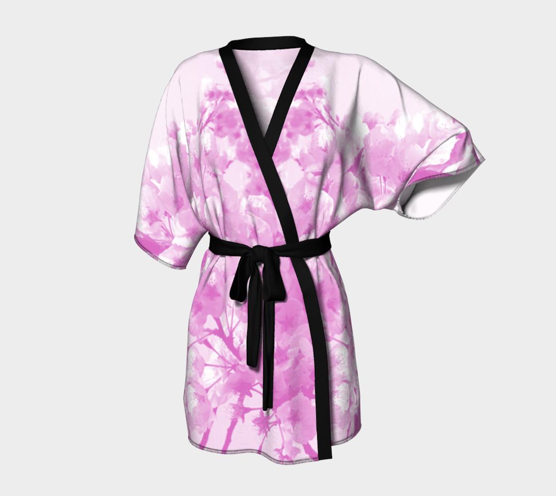 Cherry Blossom Kimono Robe preview #1
