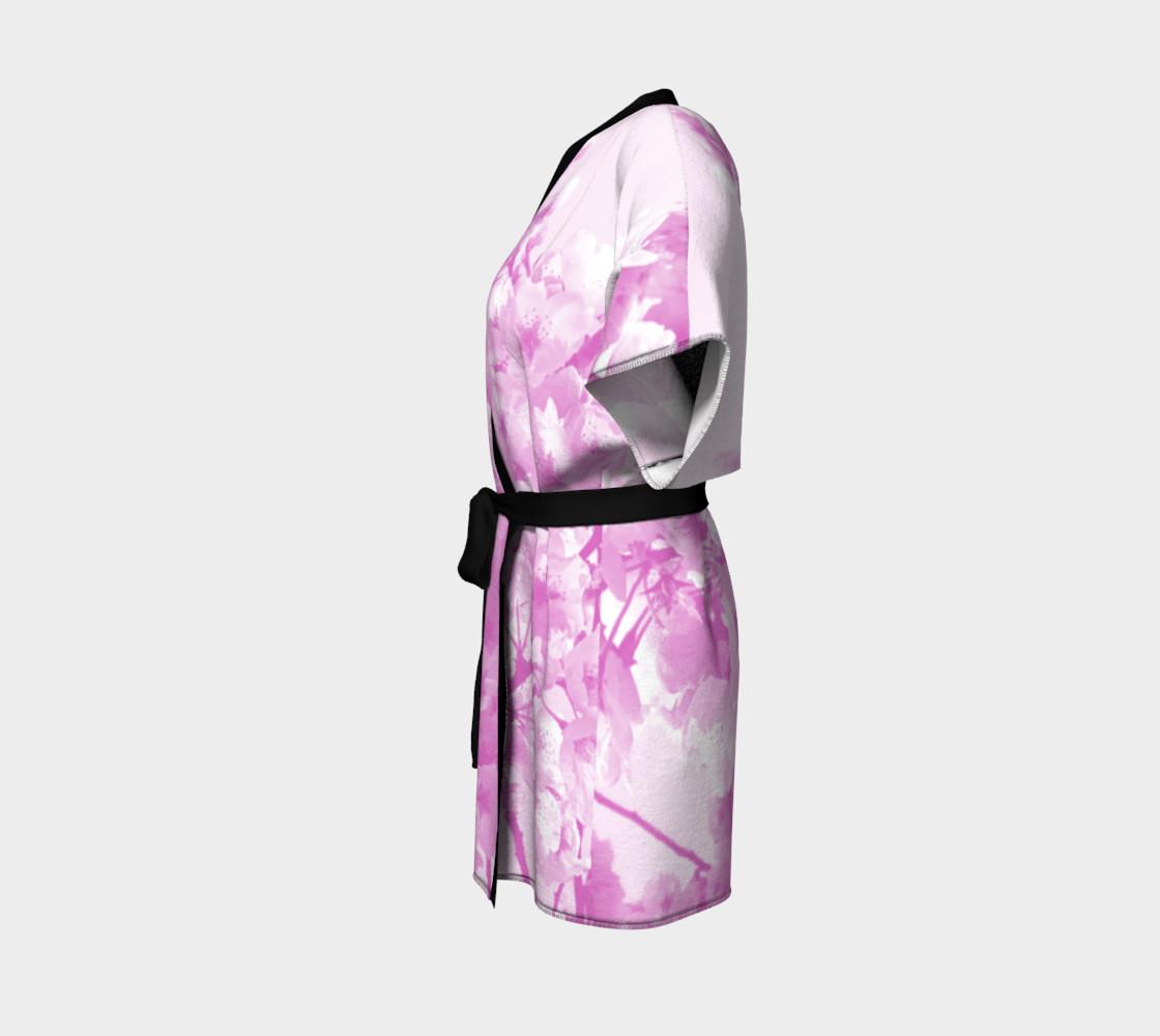 Cherry Blossom Kimono Robe preview #2