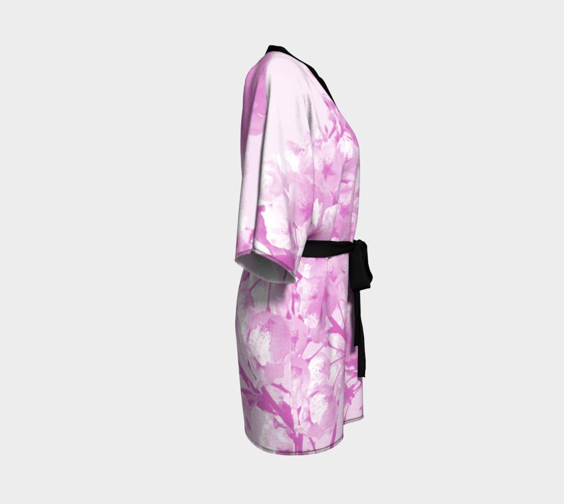 Cherry Blossom Kimono Robe preview #3