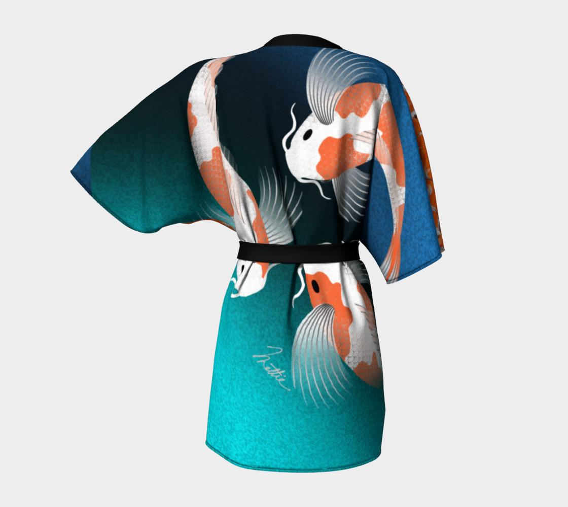 Koi Fish Kimono preview #4