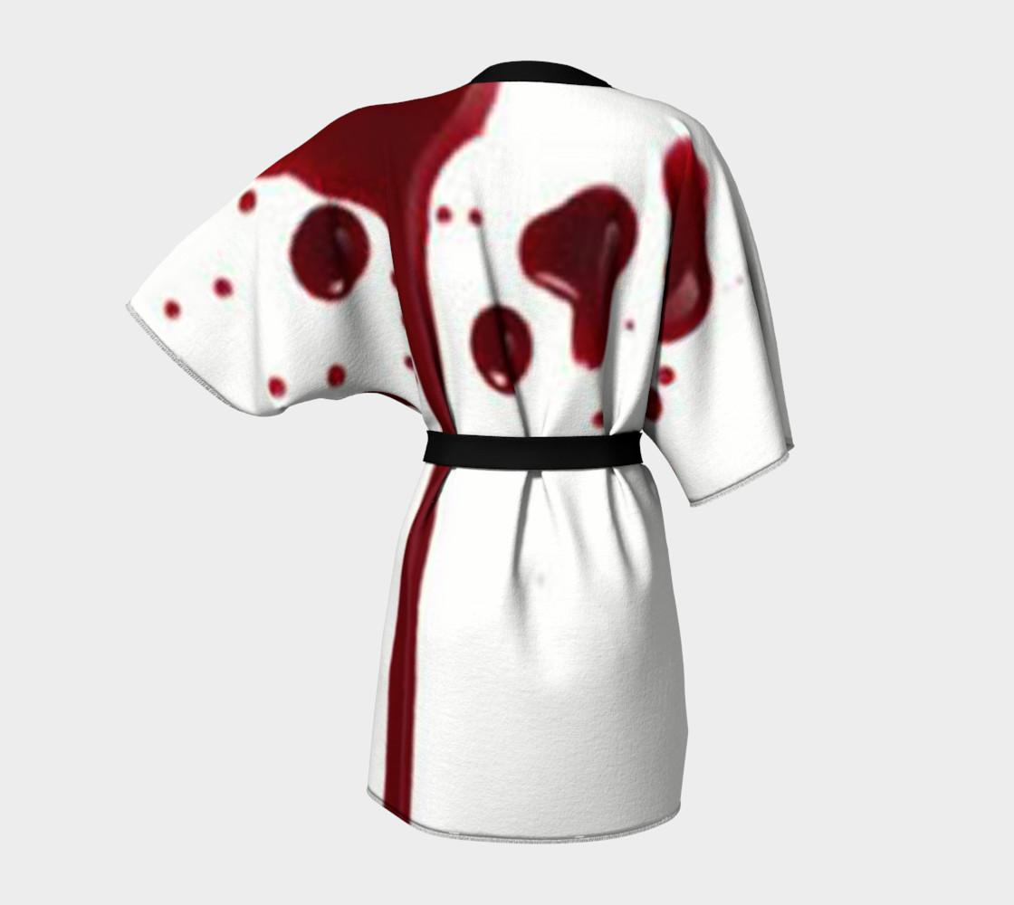 Blood Splatter four kimono robe preview #4