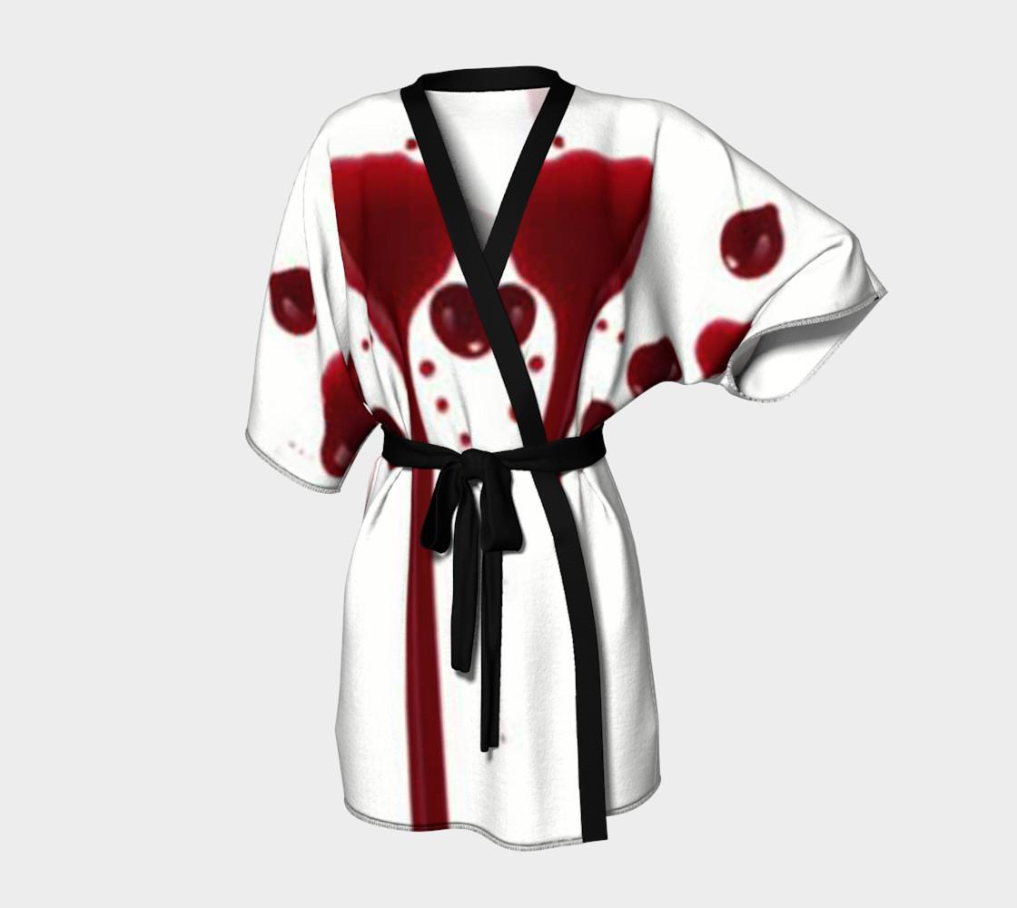 Blood Splatter four kimono robe preview #1