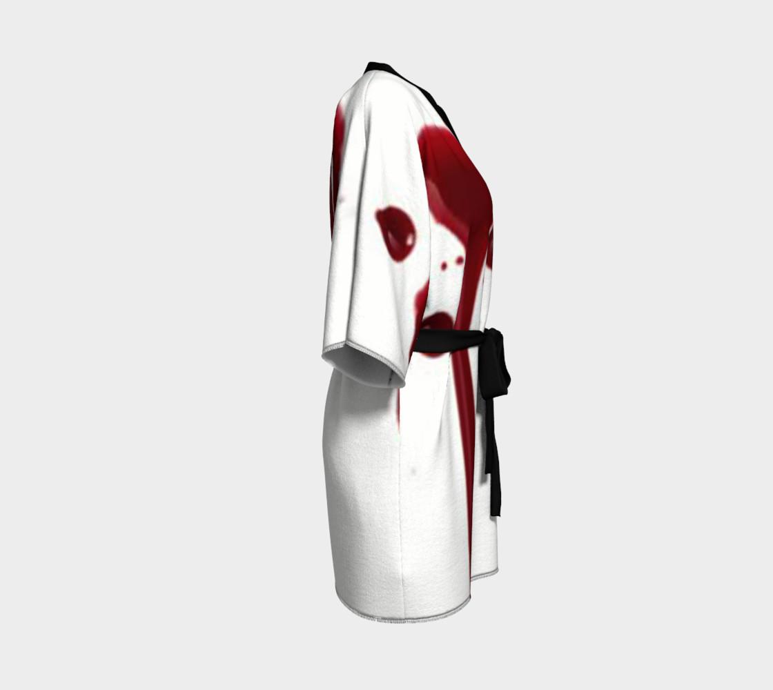 Blood Splatter four kimono robe preview #3