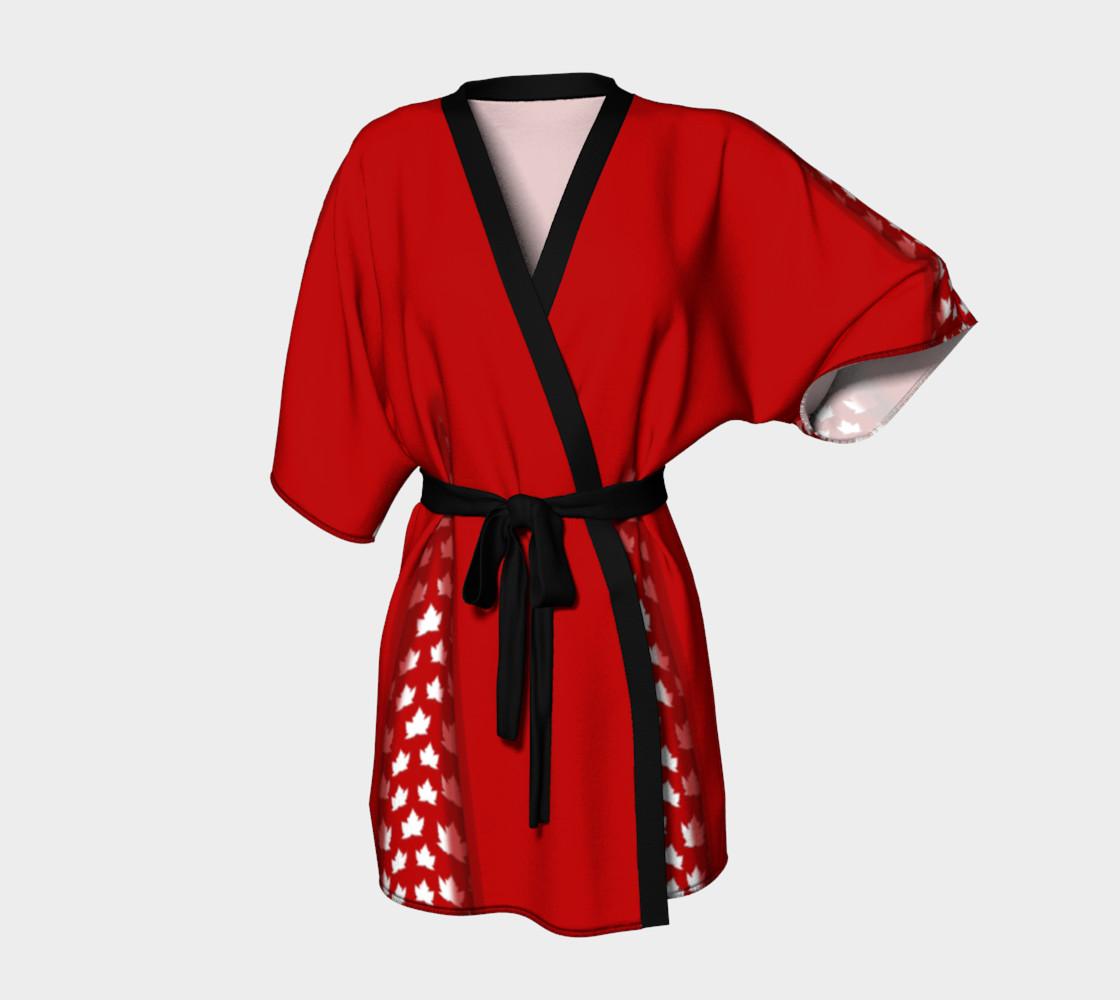 Canada Robes Cute Canada Bath Robes Kimono Peignoir Par Kim Hunter Boutique Art Of Where
